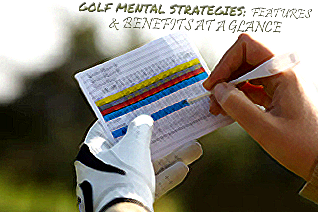 Golf Mental Strategies: FEATURES & BENEFITS AT A GLANCE