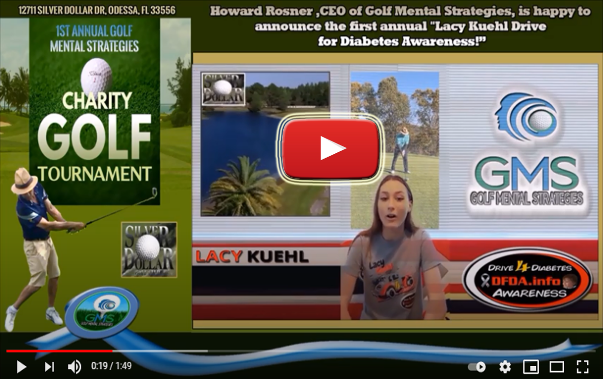 1st Annual GMS Charity Golf Tournament Fundraiser Lacy Kuehl Drive for Diabetes Awareness